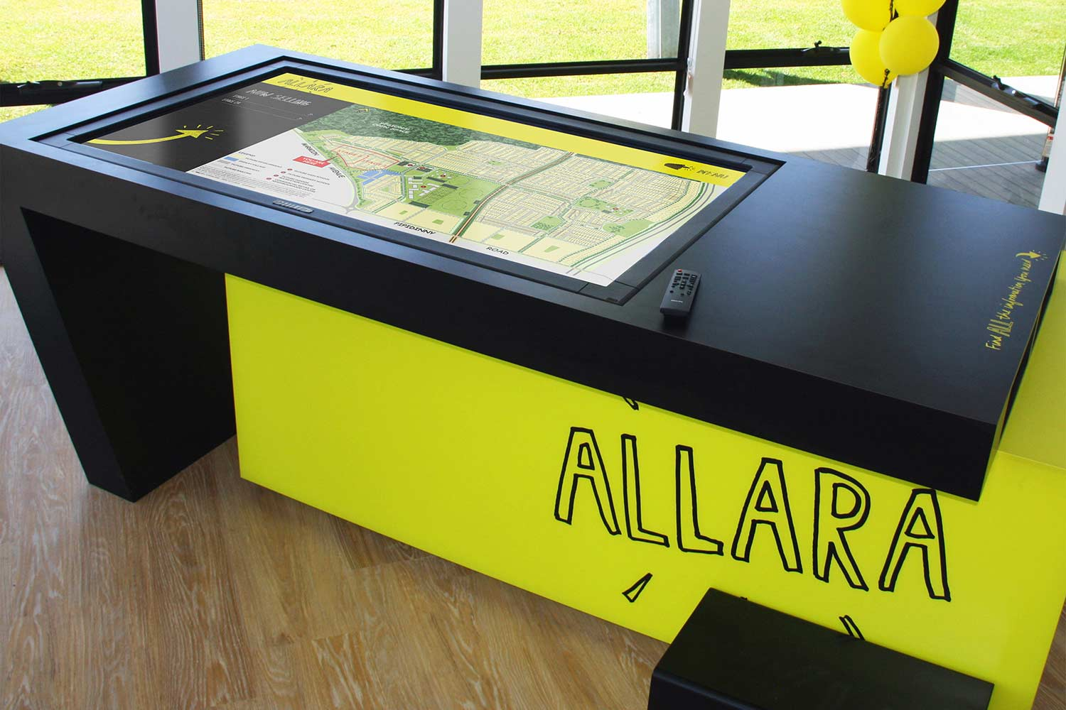 Allara map table
