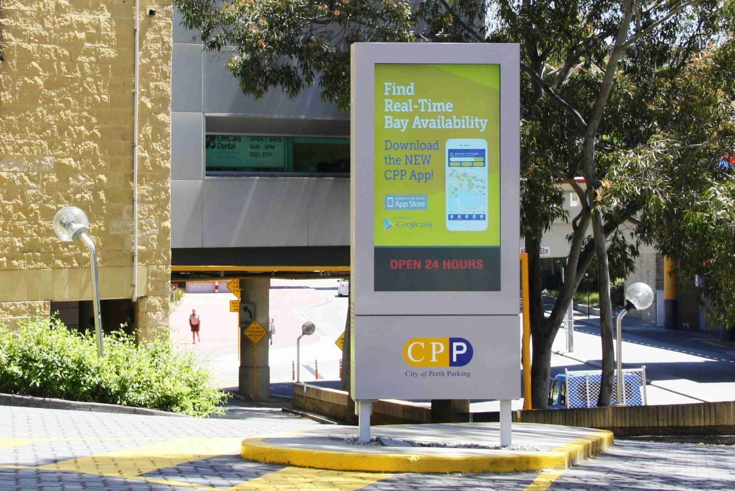 CPP City of Perth Parking Digital Info Signs 1