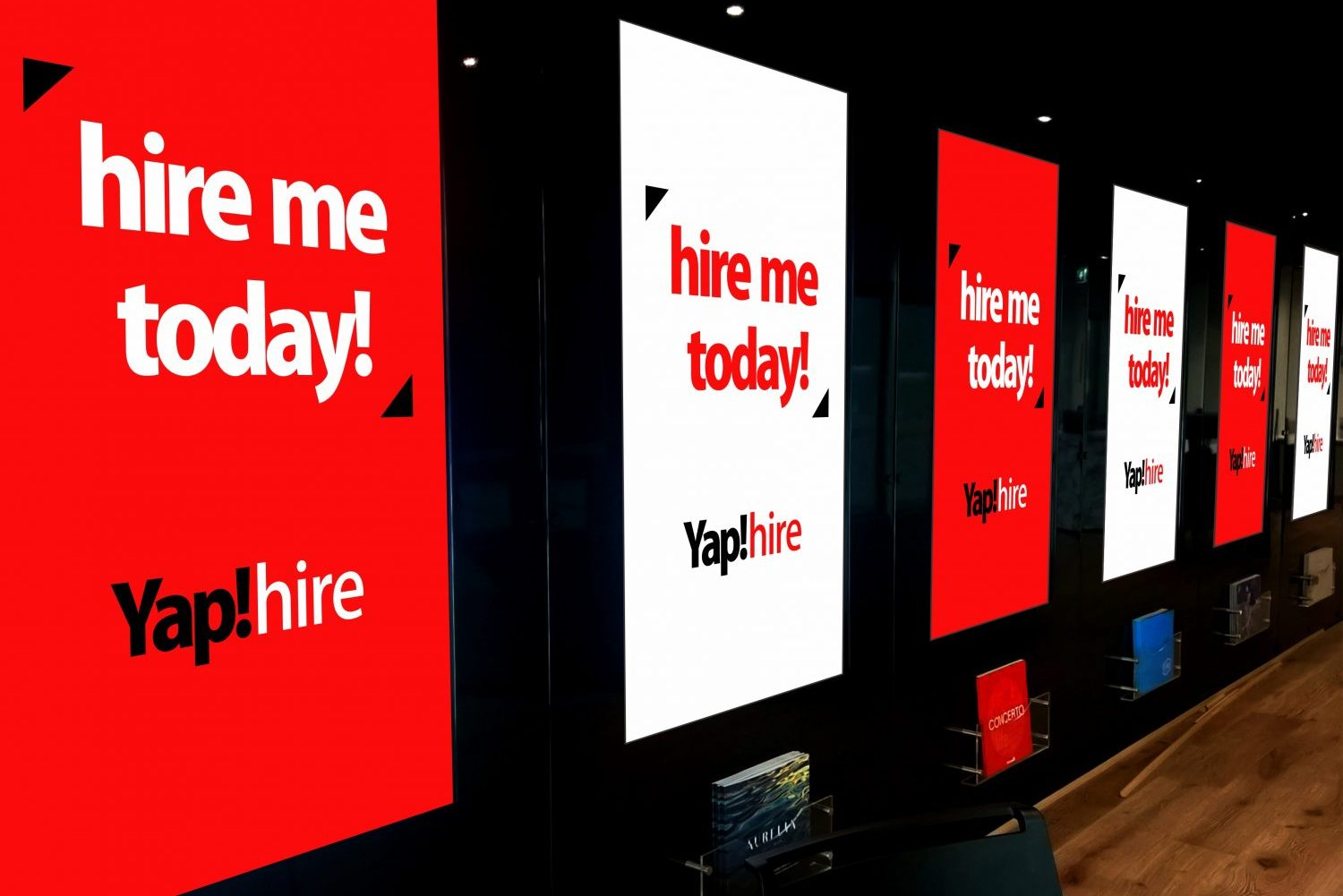 Yap!hire - Display Suite - Multi